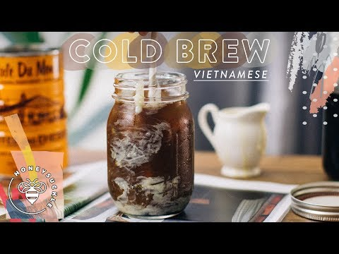 Cold Brew Vietnamese Coffee - COFFEE BREAK SERIES - Honeysuckle