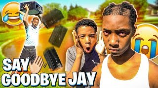 I THREW JAY GAMING COMPUTER IN THE LAKE FOR PAYBACK!💔