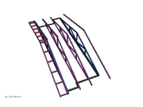 Gable end Truss Roof   v1