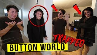 We Sent My EVIL TWIN to the BUTTON WORLD DIMENSION at 3 AM... AND TRAPPED HIM THERE!!
