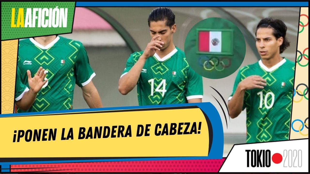 ¡Grave Error! Bandera de la selección mexicana estaba al revés en un jersey