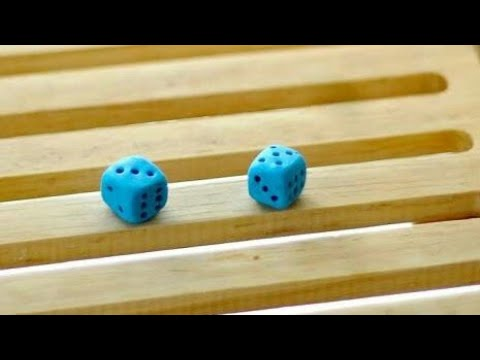 How to Make Dice using Clay