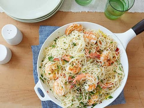 Shrimp Scampi with Angel Hair Pasta   Food Network