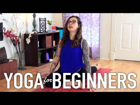 Yoga For Anxiety and Stress - Calming, Centering & Grounding
