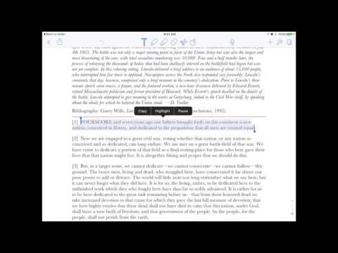 Notability PDF Features