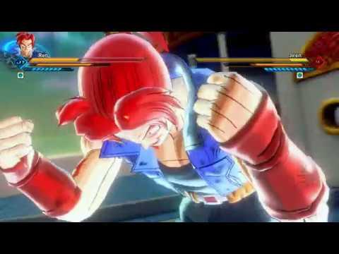 Transformation Super Saiyan 1-2-3-GOD-BLUE FOR CAC ! + VS JIREN! Xenoverse 2 Mods