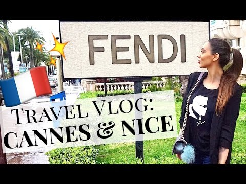 Travel Vlog: Nice & Cannes | Weird Service In Fendi 👀
