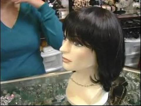 How to Wear Wigs : Picking a Wig for Diamond Shaped Faces