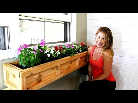 The $20 Window Planter Box - Easy DIY Project