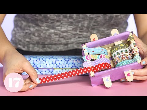 How to Make a DIY Washi Tape Dispenser | Plan With Me