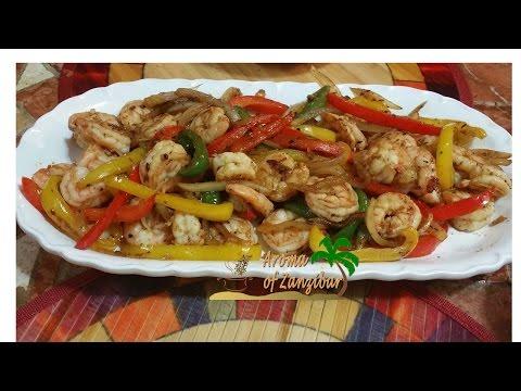 Shrimp Fajita ( English)