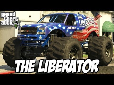 How to get a monster truck in GTA V (Liberator Monster Truck) (GTA 5)