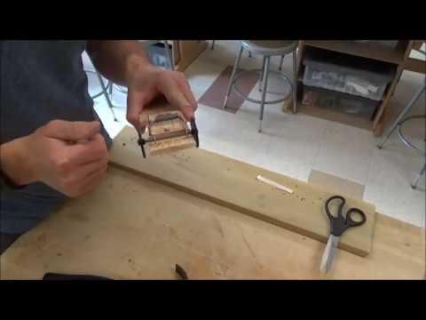 Mousetrap Car Video #3 (Front Wheels)
