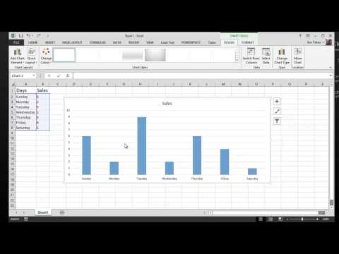 Tutorial - Excel 2013 Charts - How to