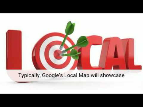 Google Local Maps for the First Page