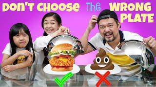 Don't Choose the Wrong Plate Challenge | Kaycee & Rachel
