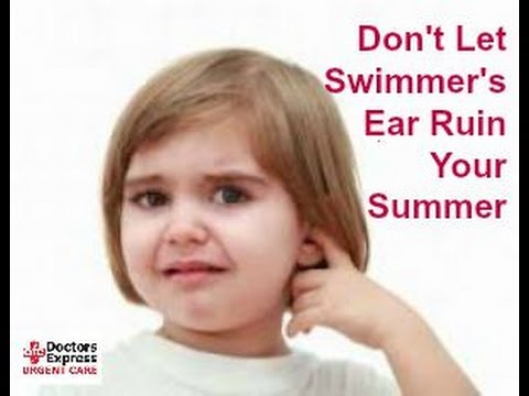 Don't Let Swimmer's Ear Ruin Your Summer