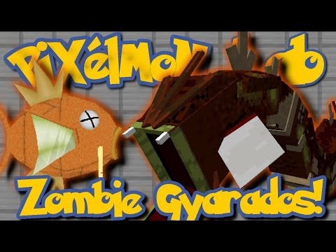 Pixelmon Lab: How To Get a Zombie Gyarados!