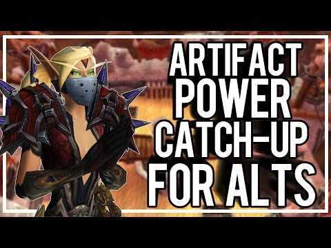 ARTIFACT POWER CATCH UP FOR ALTS - Outlaw Rogue PvP WoW Legion 7.1
