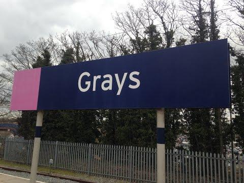 Full Journey on c2c (Class 357) from London Fenchurch Street to Grays (via Rainham [Essex])
