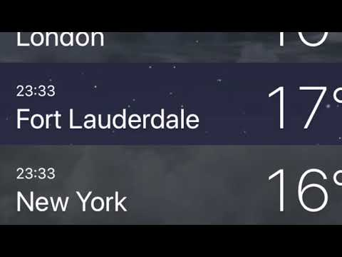 How to Change Weather Degrees from Fahrenheit to Celsius on iPhone Weather App