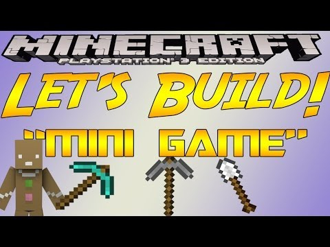 Minecraft PS3 Edition - Let's Build 'Mini Game
