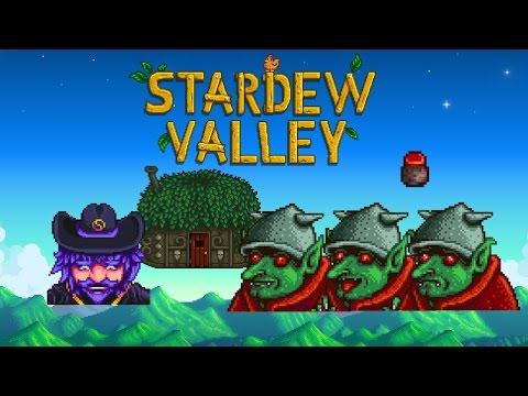 Stardew Valley - Quest: Dark Talisman & Goblin Problem