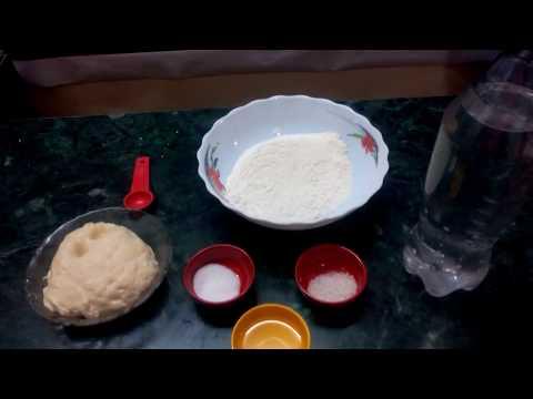 Instant naan dough