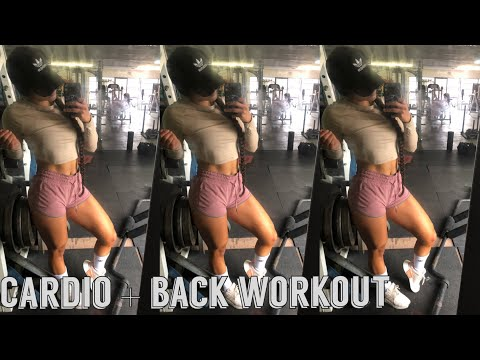 WHEN IS THE BEST TIME TO DO CARDIO? + FULL BACK WORKOUT