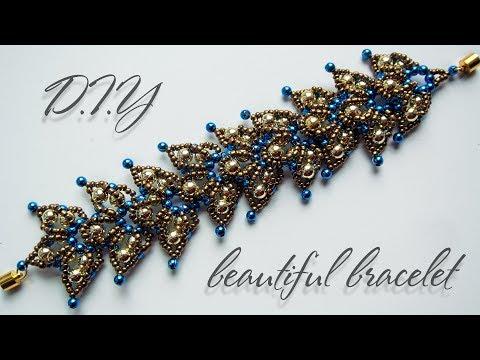 Bracelet | How to make bracelets | DIY | Beaded Bracelet Tutorial | Black Pearl