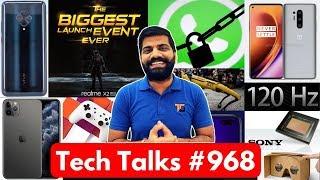 Tech Talks #968 - Whatsapp BAN, Realme Biggest Launch, Redmi Launch, IMX686, OnePlus 8 Pro