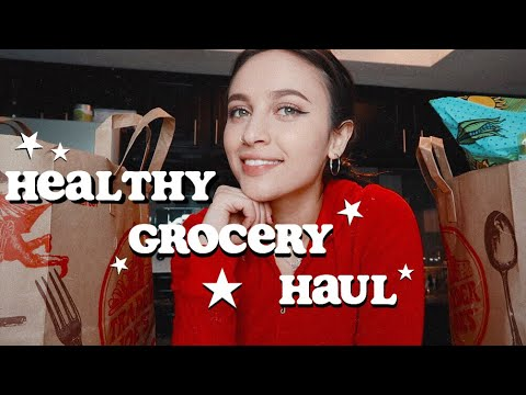 HEALTHY COLLEGE GROCERIES | Trader Joe's Haul