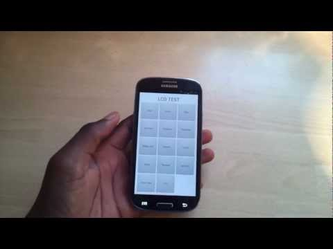 Samsung Galaxy S3: Secret Phone Code For LCD Check