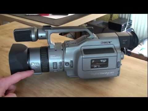 Sony DCR-VX1000 MiniDV camcorder review