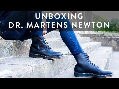 Dr. Martens Newton Lite | Sneaker Boot Unboxing | Style Tips | On Feet | The New Collections