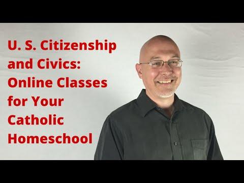 Online Classes: High School Civics