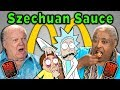 Elders React And Try Mcdonald'S Szechuan Sauce (Rick And Morty) mp3