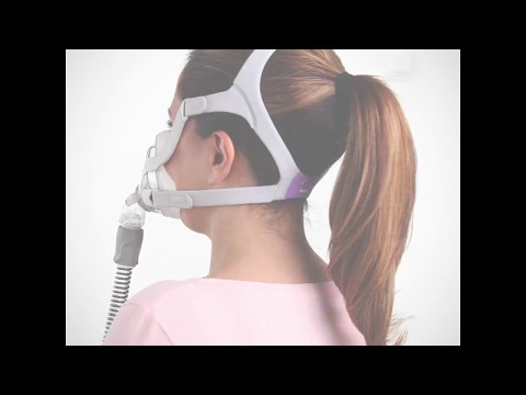AirFit F20 For Her Full Face CPAP Mask - Haircare Tips