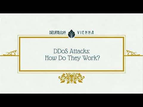 DrupalCon Vienna 2017: Anatomy of DDoS