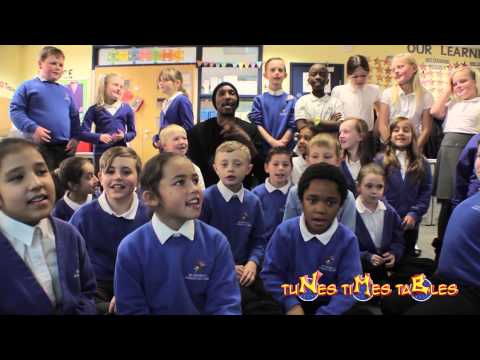Times Tables Mr NK teaches tunes times tables to (year 4) at Black Heath Primary Oldbury (part 3)