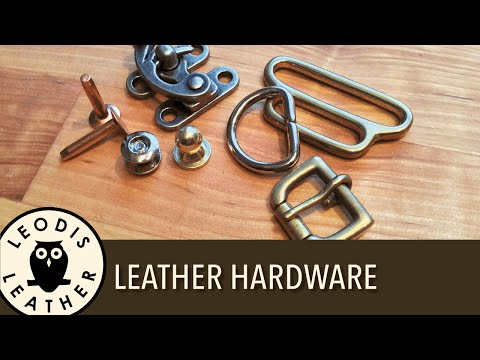 Hardware for Leather Work (30 mins HD)