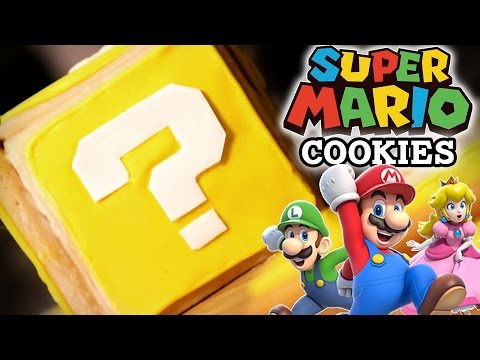 How to Make SUPER MARIO Question Block Cookies! Feast of Fiction S4 Ep4