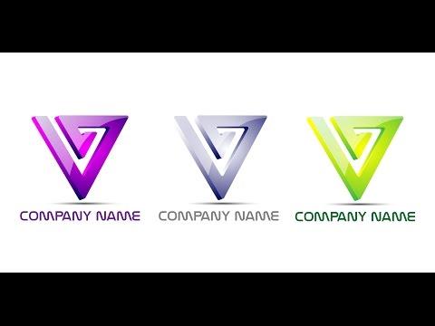 Adobe Illustrator cc tutorial triangle logo design