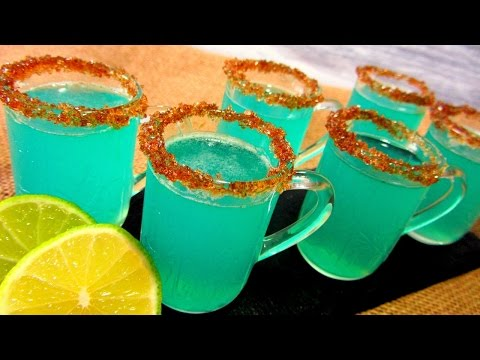 Gelatinas de Mojito Veganas (CON ALCOHOL)