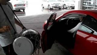 Dholi at Honda Dealership