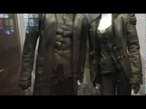 Hansel & Gretel: Witch Hunters movie costumes on display
