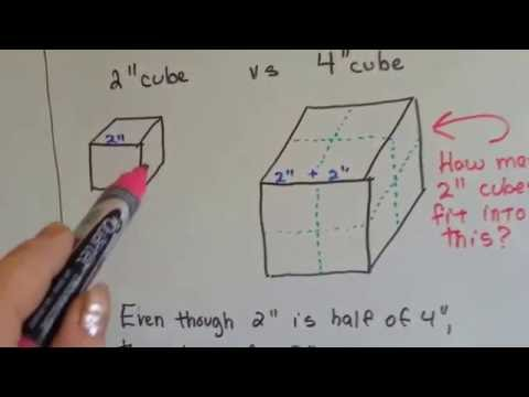 Grade 5 Math #11.7, Find Volume with cube units (Rectangular prism)