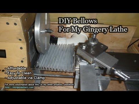 DIY Lathe Bellows
