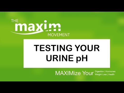 Urine pH Test