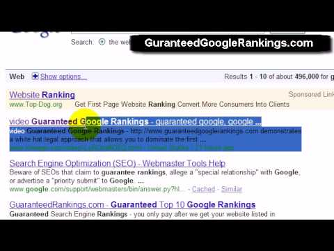 How To Get Higher Google Rankings - Holy Crap Ranked Ahead Of Google In Hours!